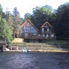 1ST LAKE OLD FORGE WATERFRONT LOG HOME HOTTUB WIFI