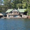 ONE-OF-A-KIND CONVERTED LAKEFRONT BOATHOUSE