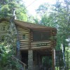 AUTHENTIC 1930'S ADIRONDACK LOG CABIN