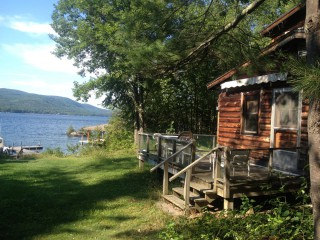 rental cabins lakehouses for youtube lake george rentals vacation york new watch rent