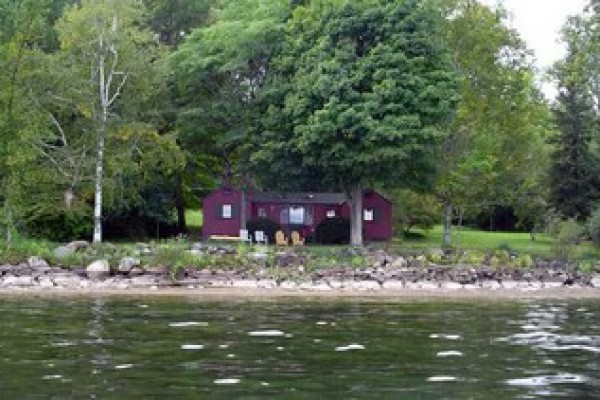 House from Lake