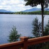 Beautiful view of Fern Lake from deck