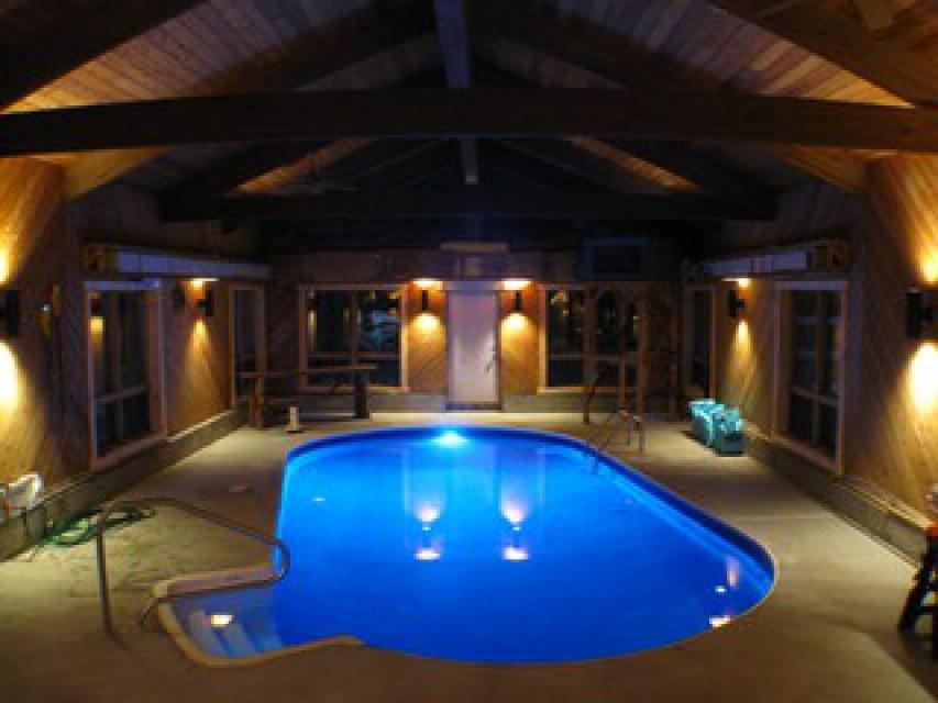 Indoor Heated Salt Water Pool !!!!