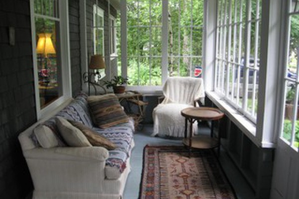 Enclosed Front Porch off Living Room