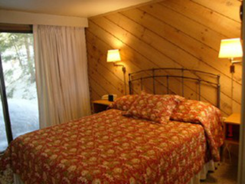 First floor Master bedroom with private deck