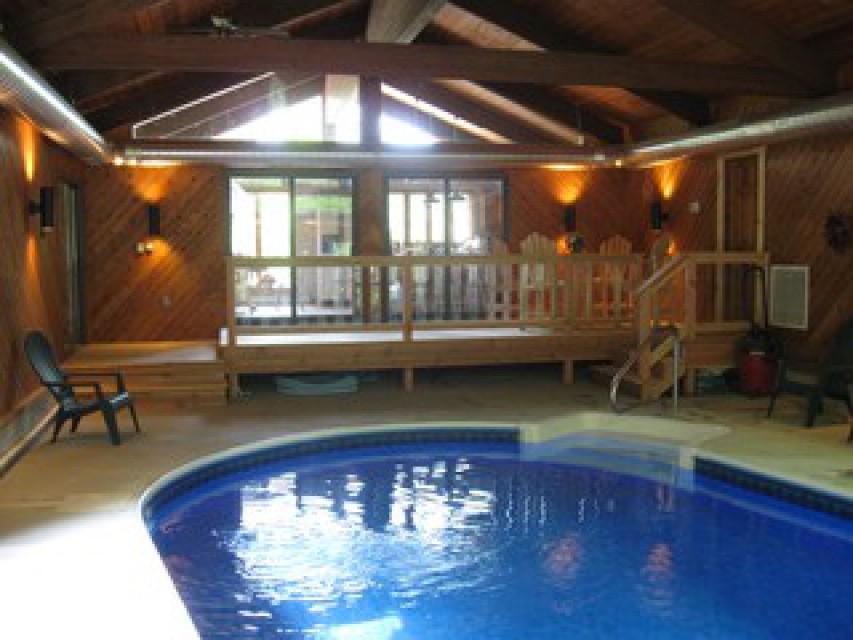 Pool Room & Indoor Deck