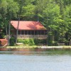 View of Cabin from Water