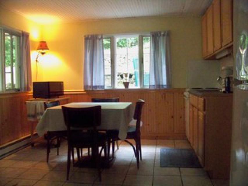 Unit 1 - Kitchen -  2 double windows & tile floors
