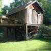 Private yard, fire pit, screened porch, deck