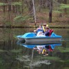 Pedal boat, rowboat, 2 kayaks avail for your use!