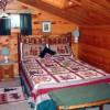 2nd floor back bedroom suite with queen bed.
