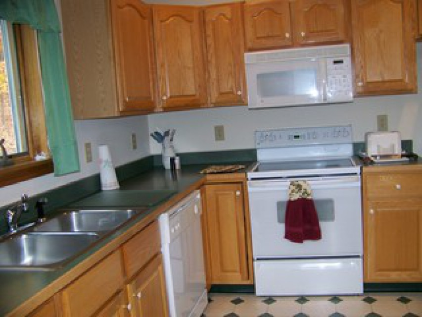 each main house unit has a fully equipped kitchen