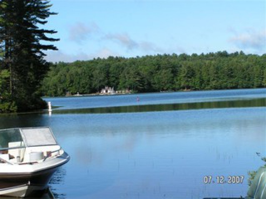 WHITE LAKE VIEW FROM ONE OF OUR DOCKS
