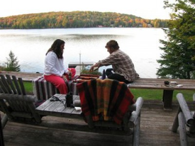 TRUE LAKEFRONT CAMP ON LAKE ADIRONDACK