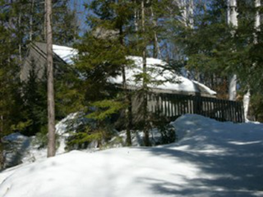 Uncas House in the winter