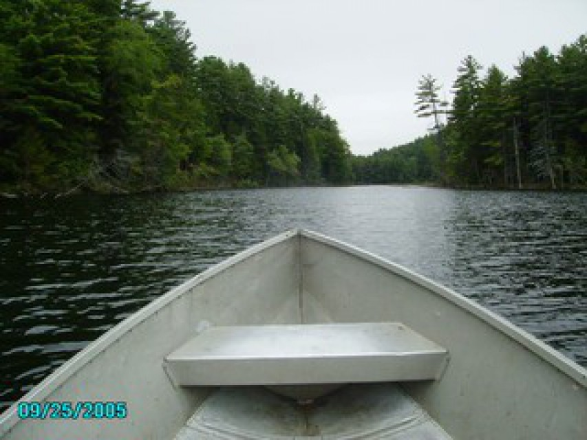 head out for adventure in one of our row boats