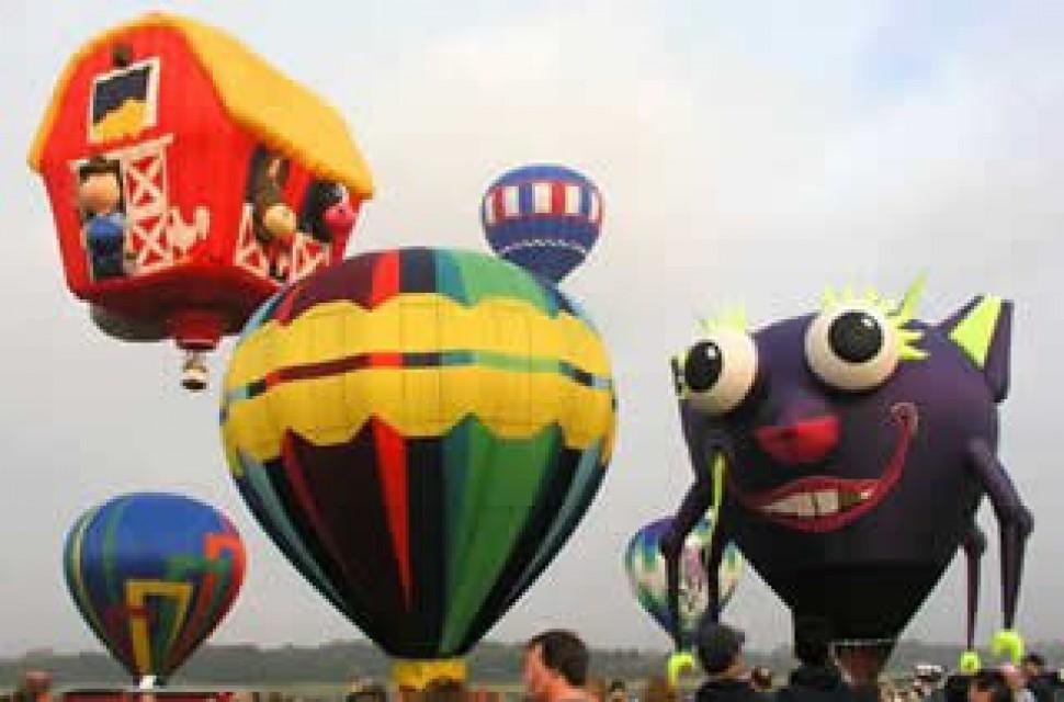 Adirondack Balloon Fest 2018: Th 09/20 thru Sun  09/23