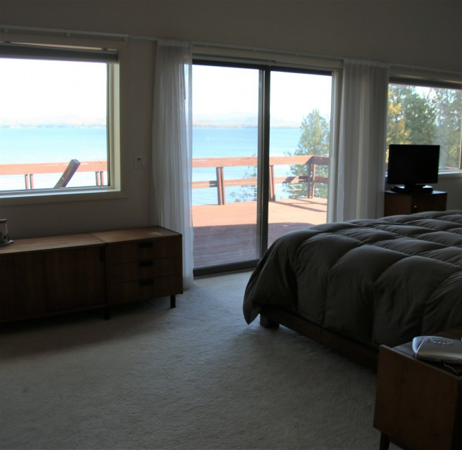 Master Bedroom #1 with Lake Views
