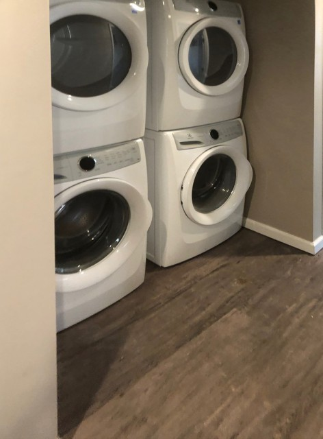 Washers and dryers for your convenience.