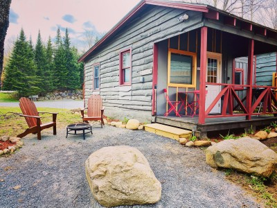A LITTLE COTTAGE IN THE ADIRONDACKS