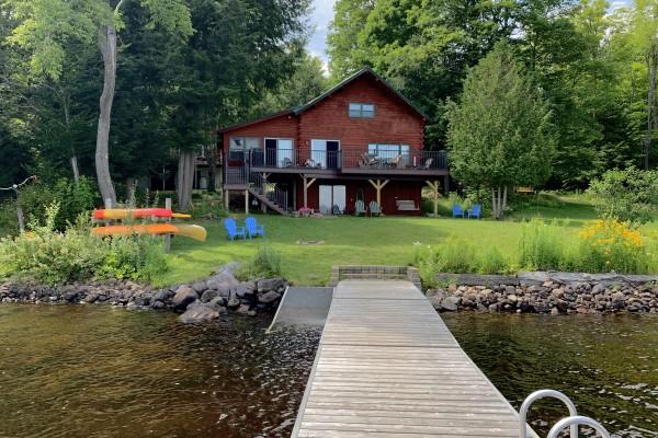 Dancing Bear lodge is the main cabin - lakeside