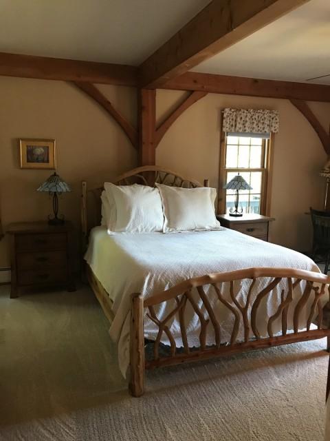 Main floor master bedroom - queen
