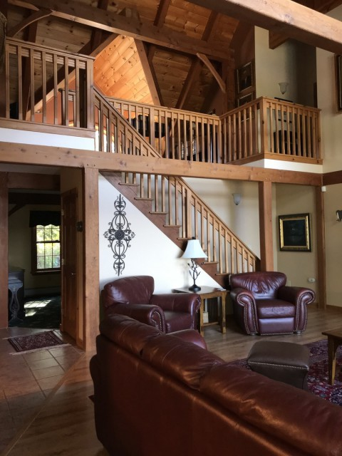 Upstairs to the Loft