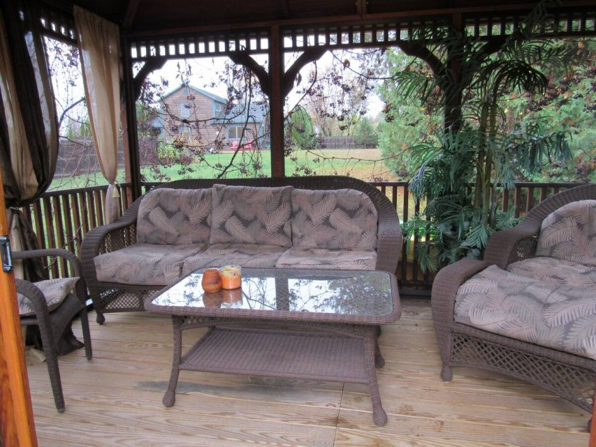 Large Screened in Gazebo