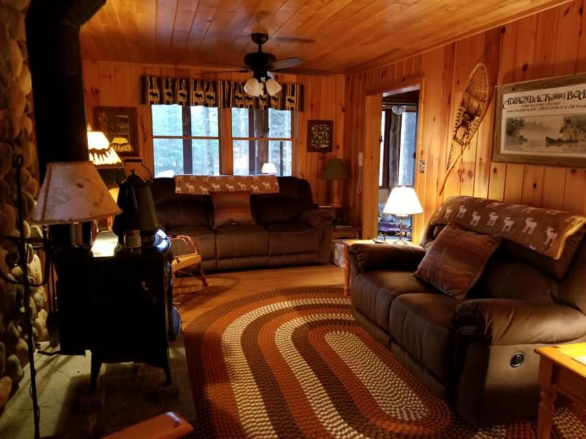 LivingRoom w/New Recliner Sofas, Seating for 12!