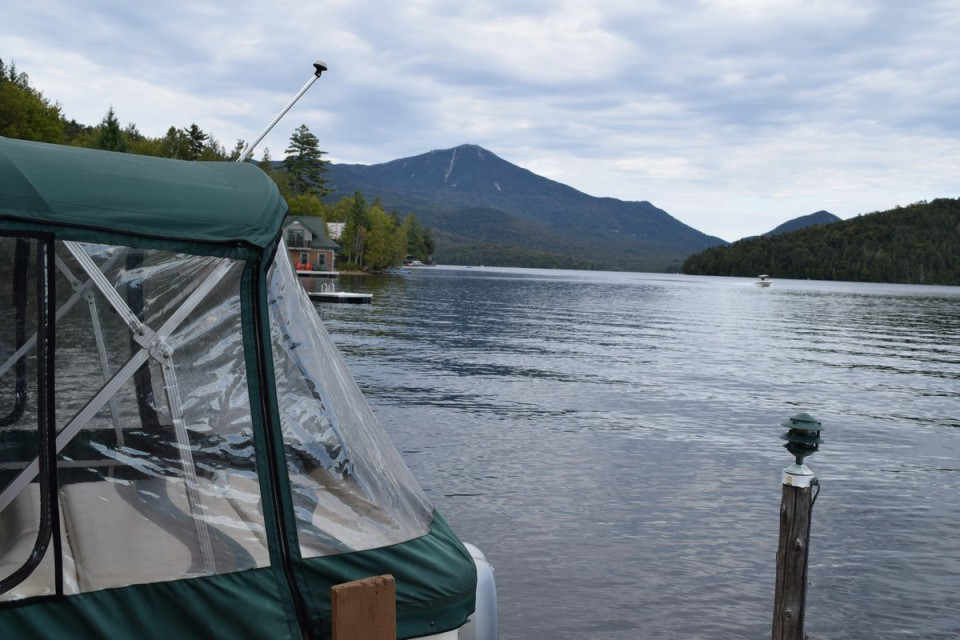 View of Whiteface from our dock