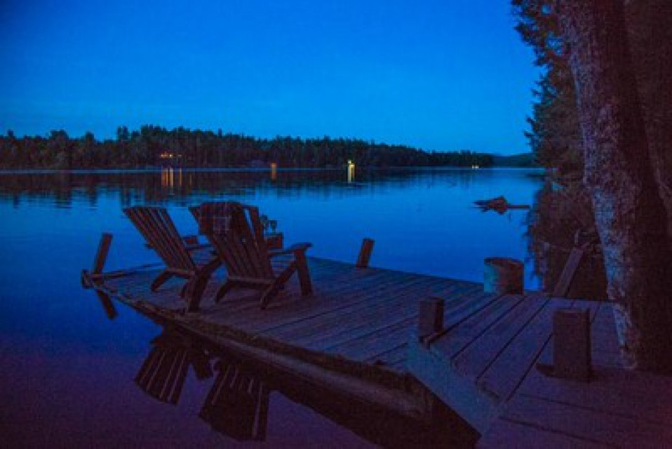 The long gloaming at Ted's Cabin