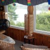 View of lake from sun room.