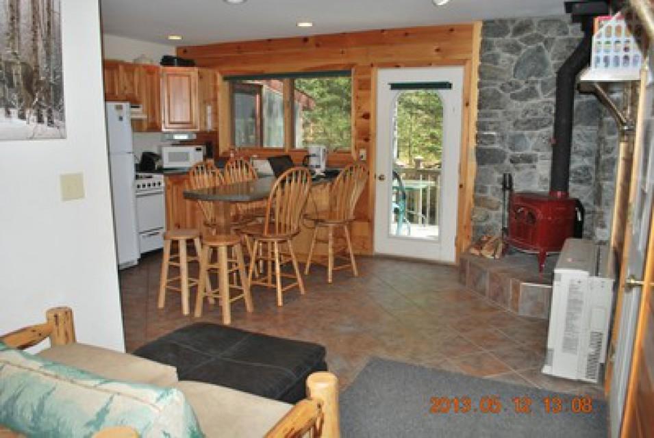Kitchen in main cabin