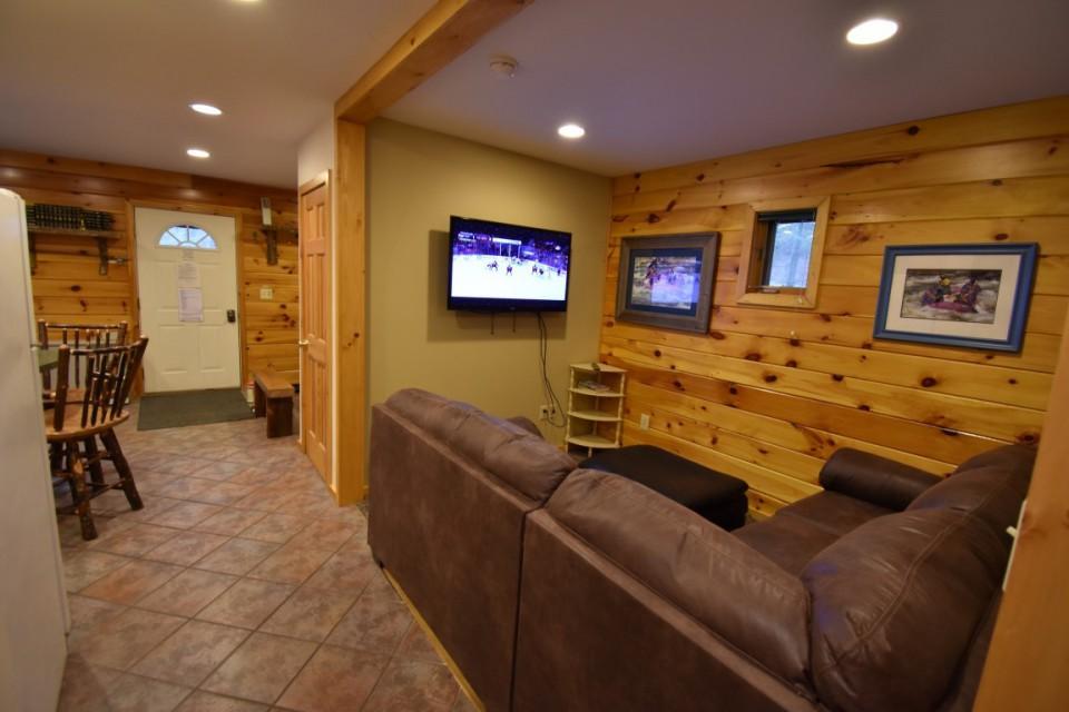 Living room in main cabin