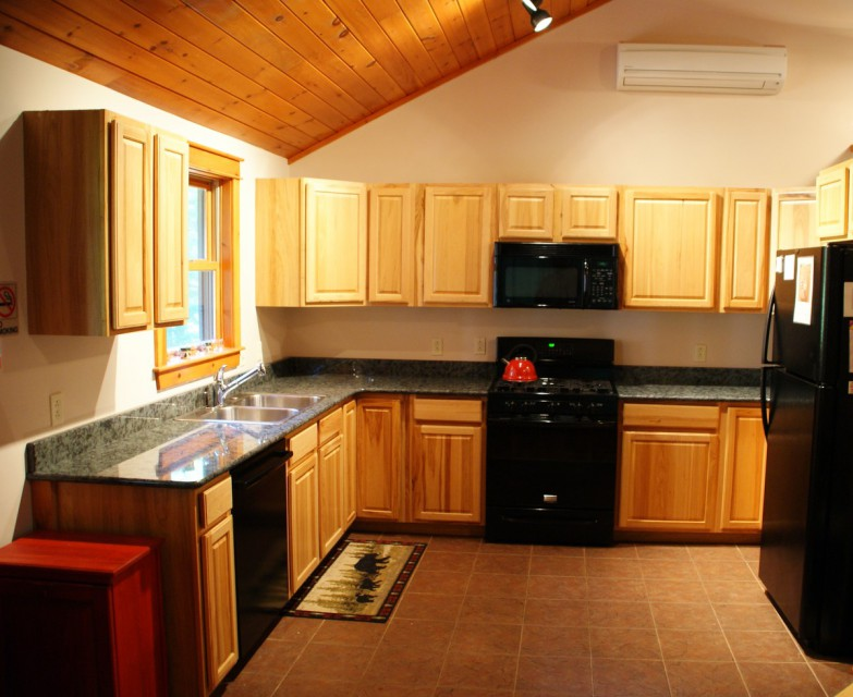 Modern Kitchen with Granite Counter-top