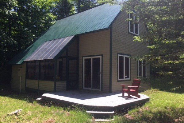 Exterior of camp