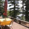 Outdoor deck w/ St. Regis Mtn. view