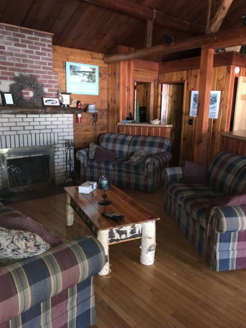 Living Area in lodge