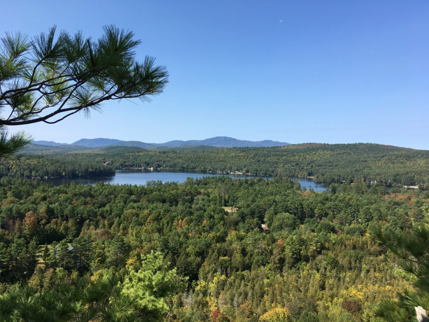Loon Lake from nearby Stewart Mountain