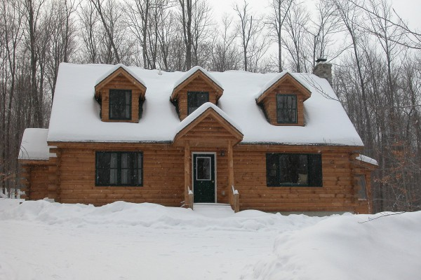 Legacy House in Winter