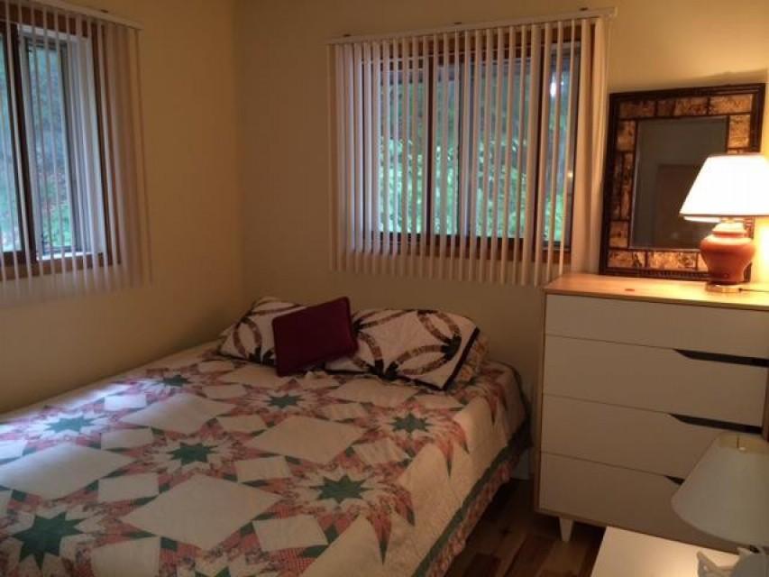 Bedroom #2 (main floor) with Queen bed