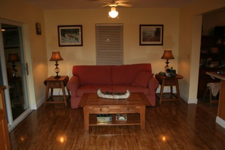 A comfortable Family Room