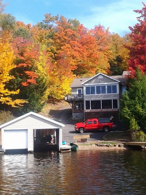 Camp KC in the fall is exquisite in color