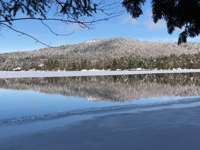 Early Winter Lake Scene from our beach