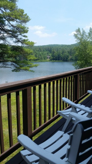 spectacular view from master bedroom balcony!