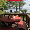 Cozy outdoor table