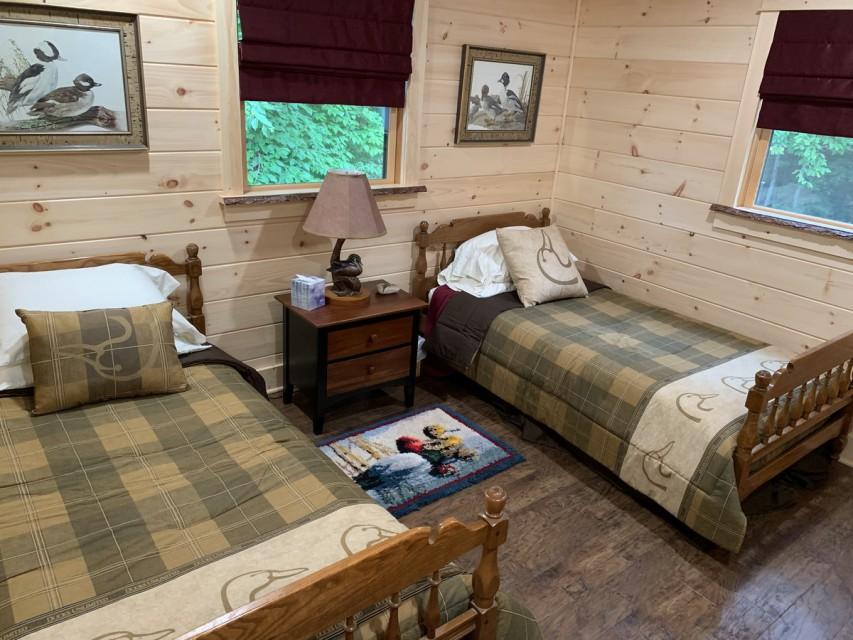 Waterfowl Bedroom, 2 twin beds