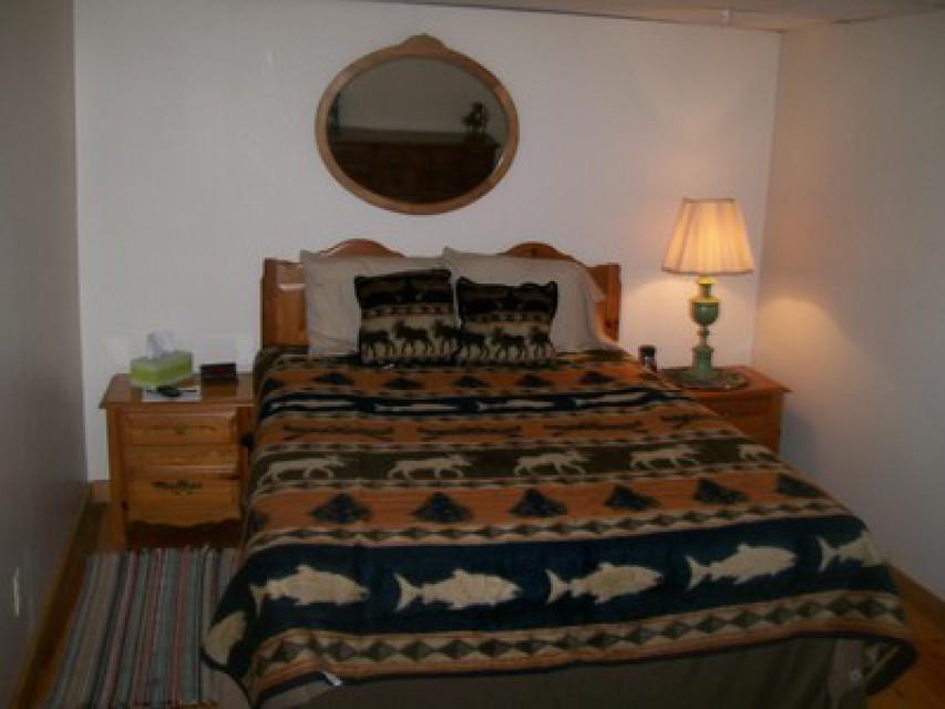 Bedroom #2 on the ground floor.