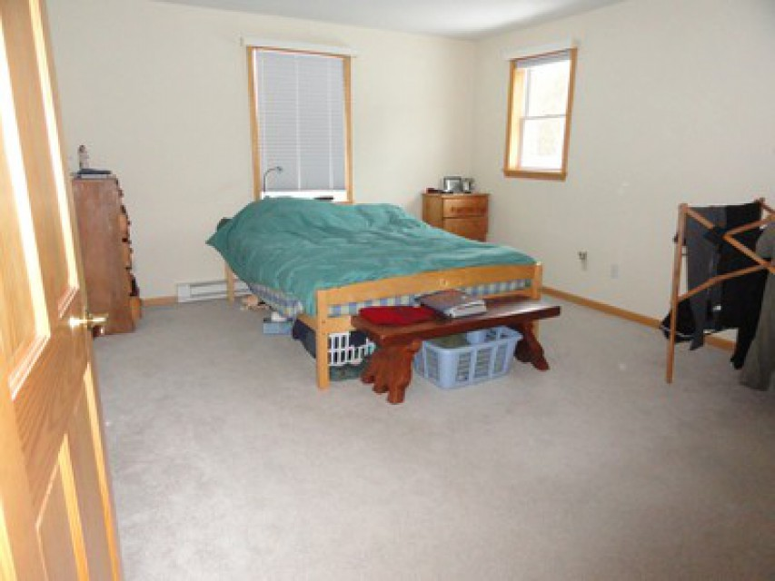 Master Bed Room With Half Bath And  Warm Tile Heat