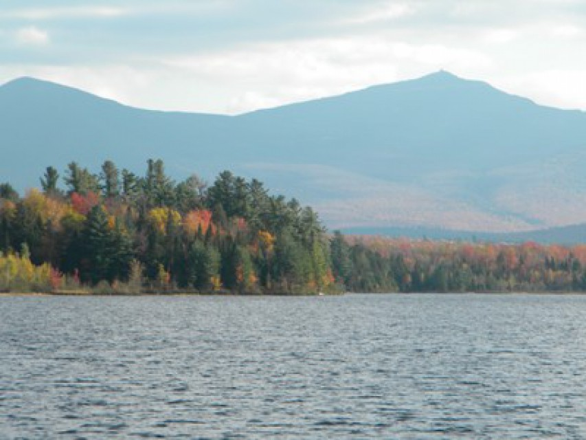 Fall looking at Whiteface